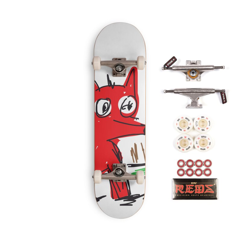Fox Accessories Complete - Pro Skateboard by rimadi's Artist Shop