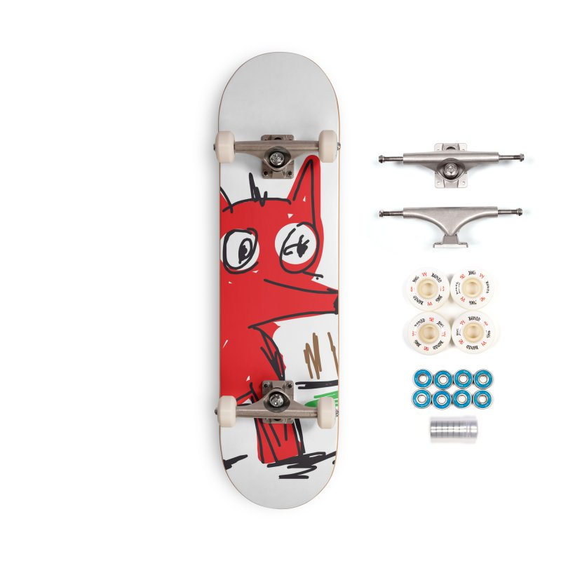 Fox Accessories Complete - Premium Skateboard by rimadi's Artist Shop