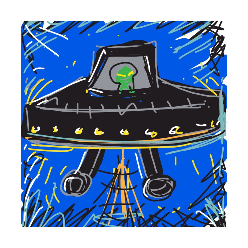 UFO by rimadi's Artist Shop