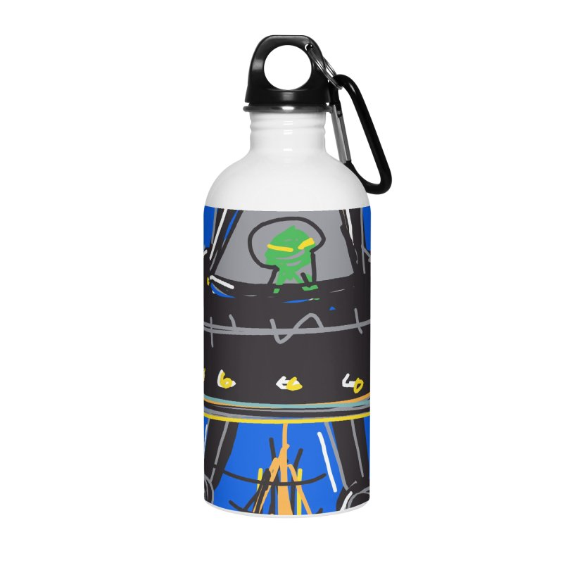 UFO Accessories Water Bottle by rimadi's Artist Shop