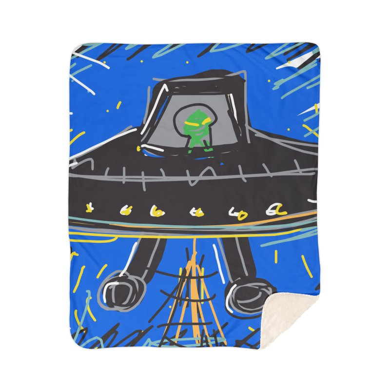 UFO Home Blanket by rimadi Shop