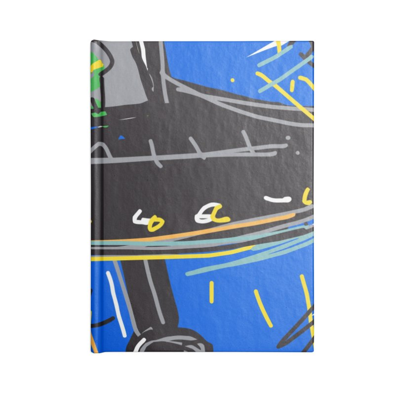 UFO Accessories Lined Journal Notebook by rimadi's Artist Shop