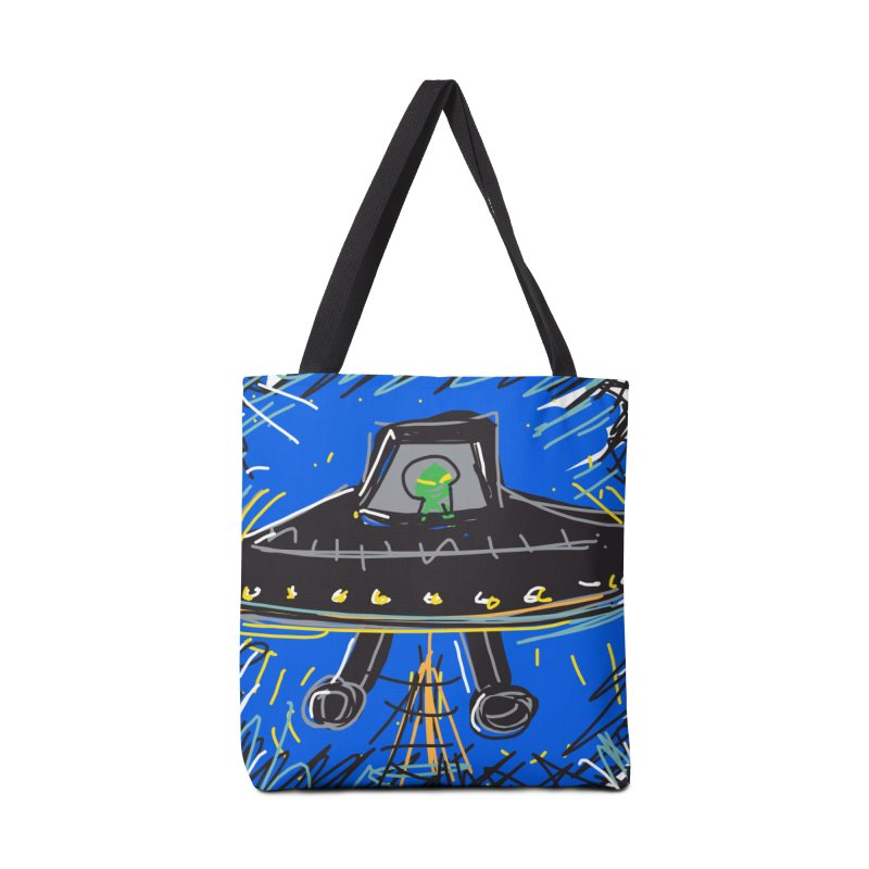 UFO Accessories Bag by rimadi's Artist Shop