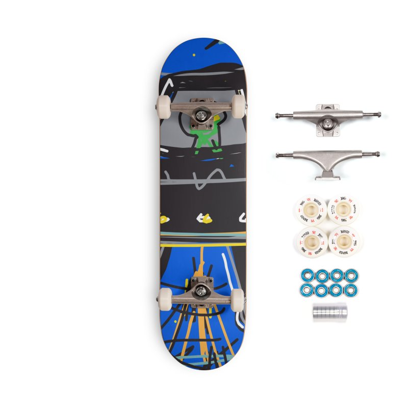 UFO Accessories Complete - Premium Skateboard by rimadi's Artist Shop