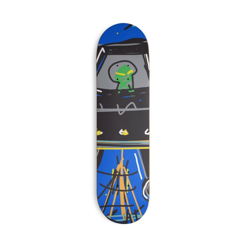 UFO Accessories Deck Only Skateboard by rimadi's Artist Shop