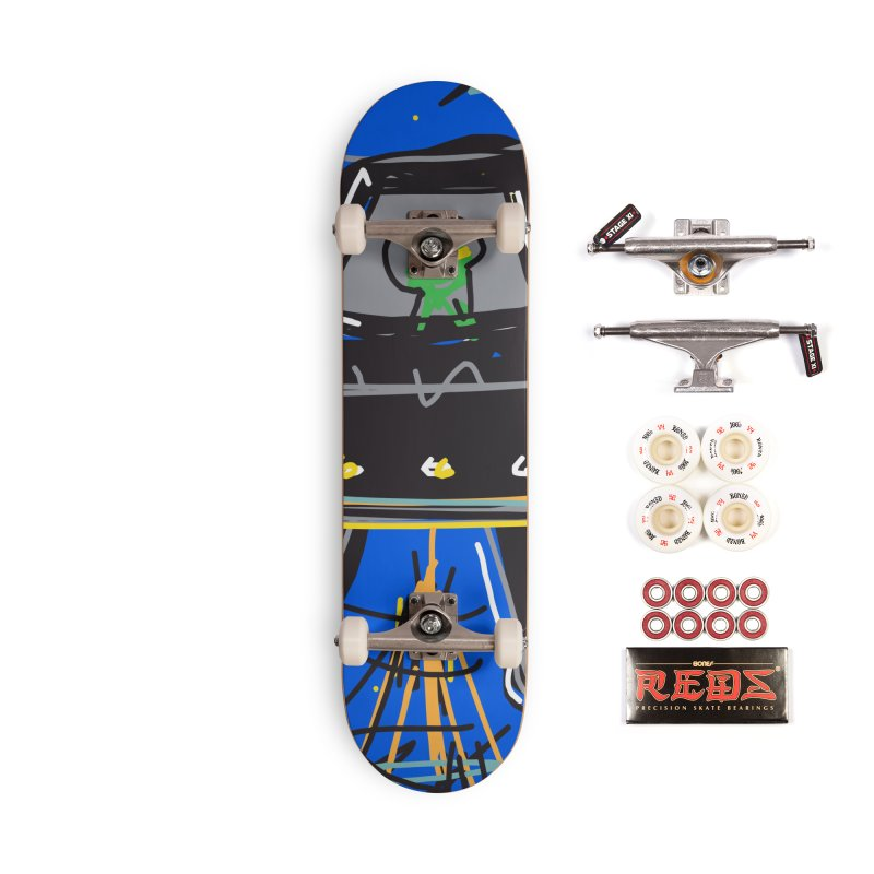 UFO Accessories Complete - Pro Skateboard by rimadi's Artist Shop