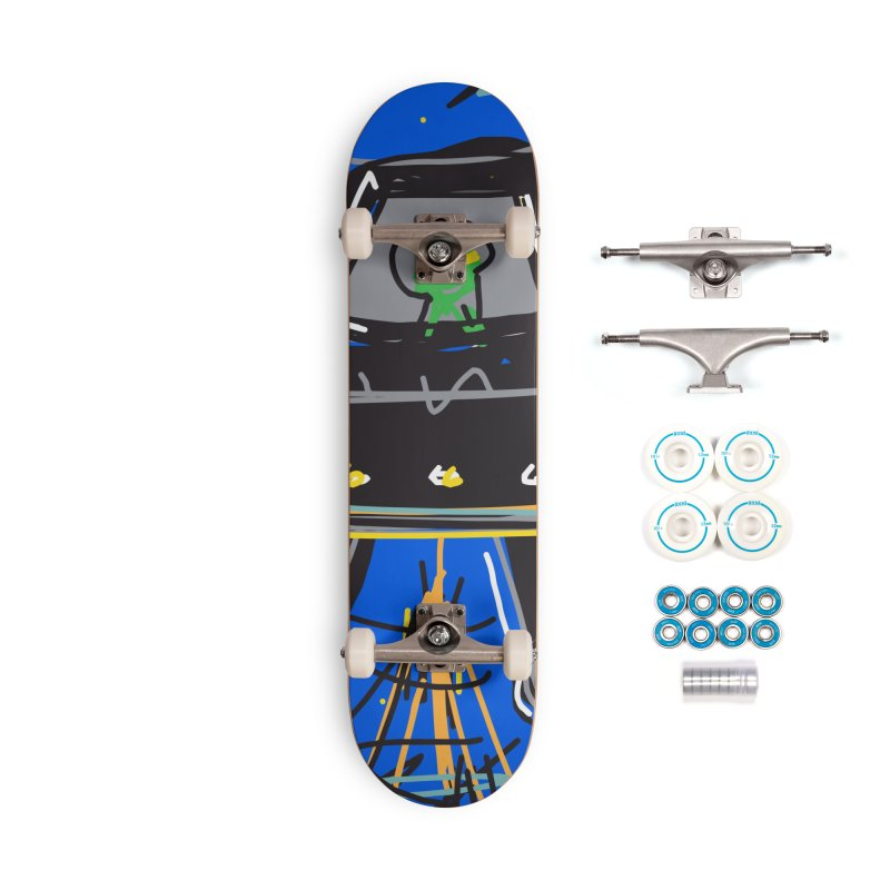 UFO Accessories Complete - Basic Skateboard by rimadi's Artist Shop