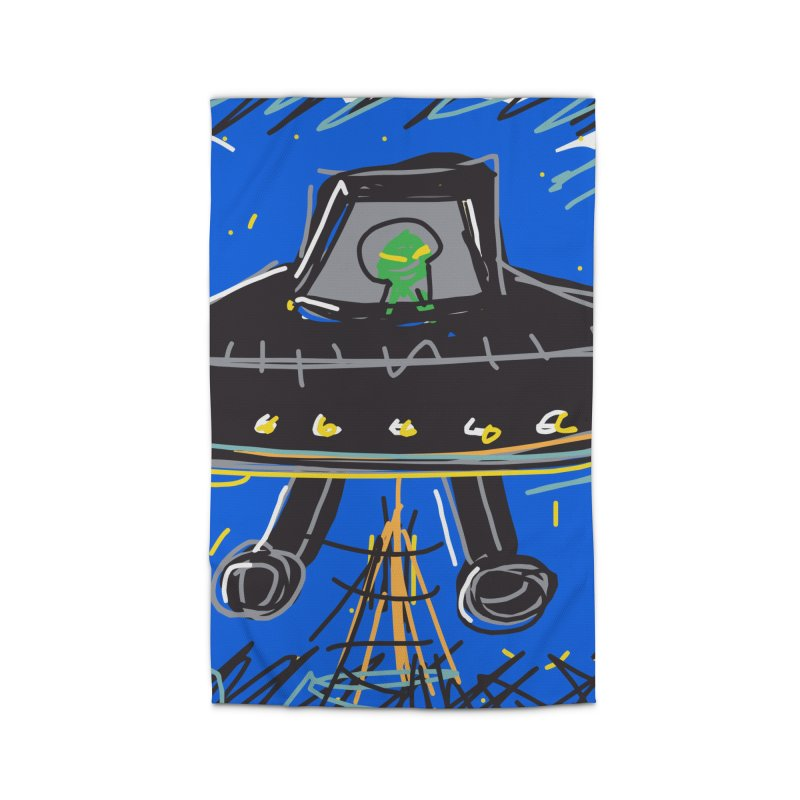 UFO Home Rug by rimadi's Artist Shop