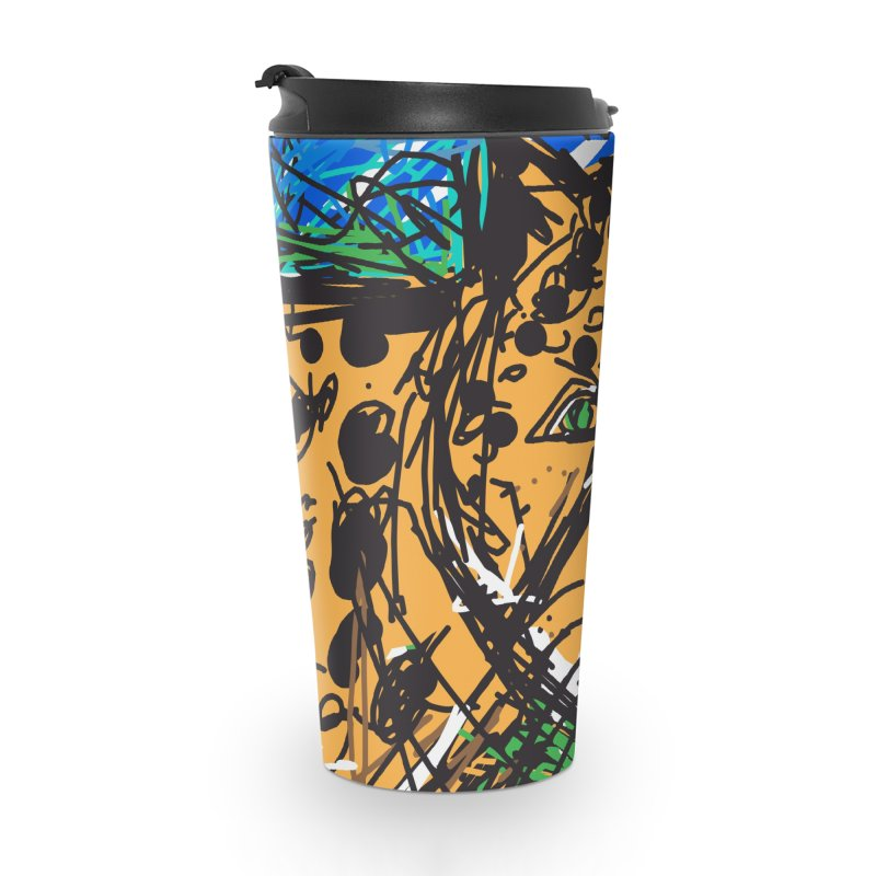 Jaguar Accessories Travel Mug by rimadi's Artist Shop