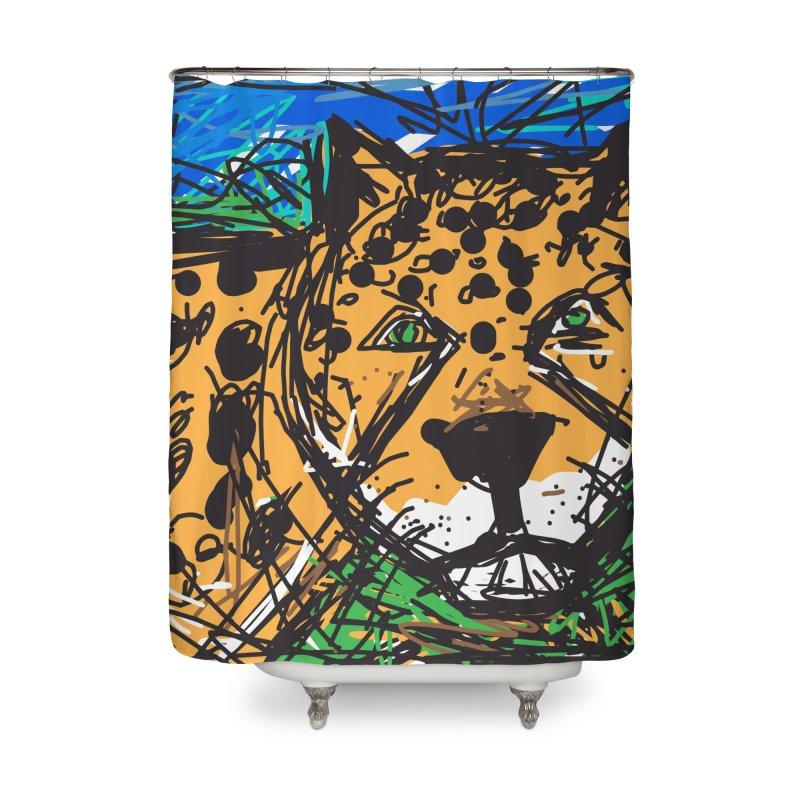 Jaguar Home Shower Curtain by rimadi's Artist Shop