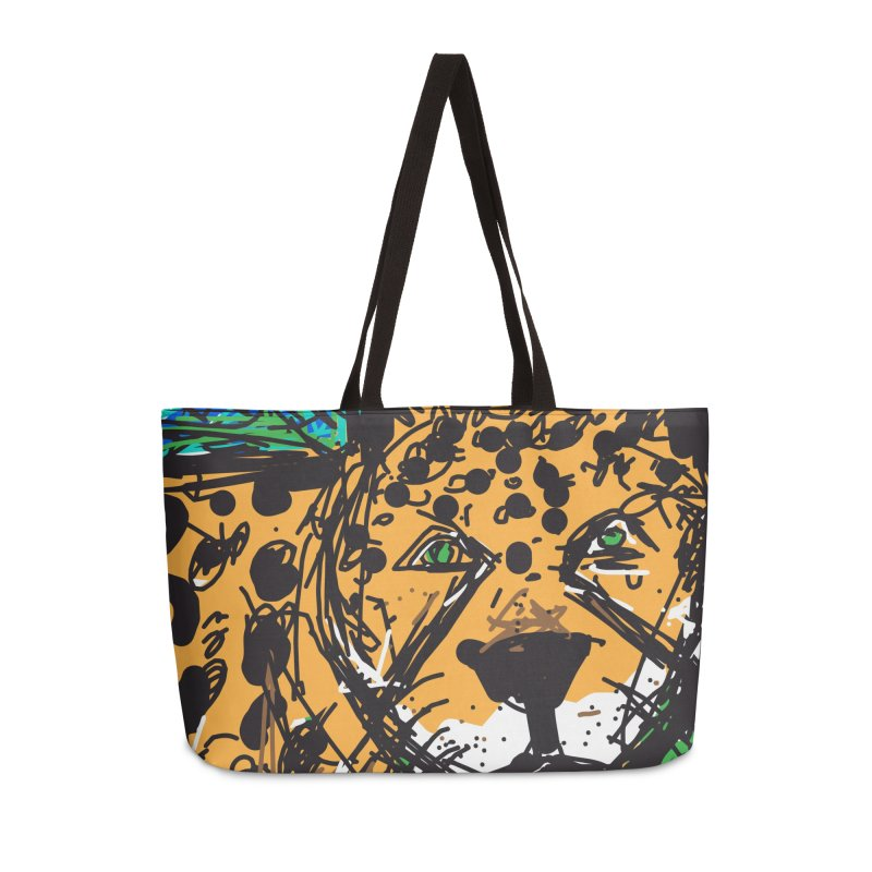 Jaguar Accessories Weekender Bag Bag by rimadi's Artist Shop
