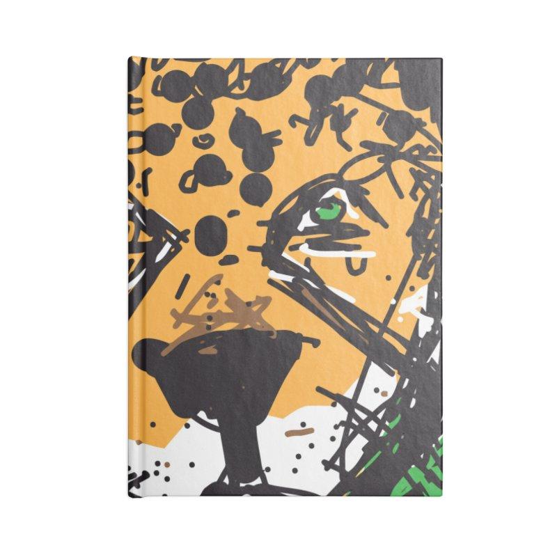Jaguar Accessories Lined Journal Notebook by rimadi's Artist Shop