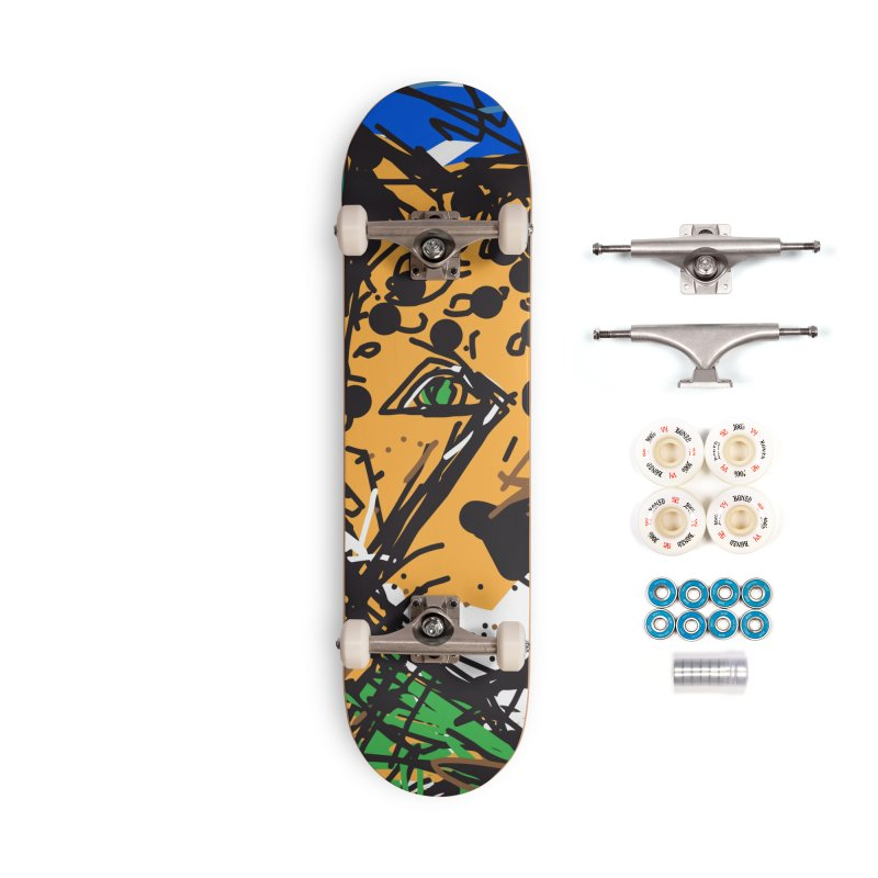 Jaguar Accessories Complete - Premium Skateboard by rimadi's Artist Shop