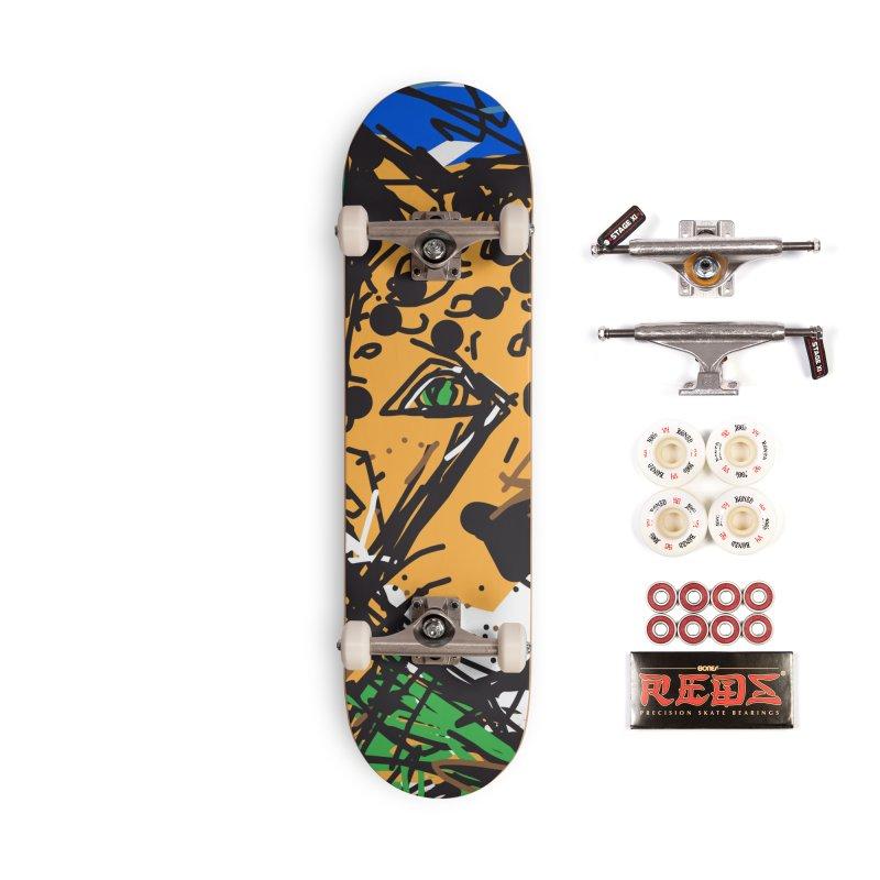 Jaguar Accessories Complete - Pro Skateboard by rimadi's Artist Shop
