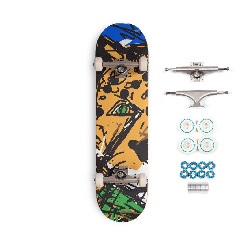 Jaguar Accessories Complete - Basic Skateboard by rimadi's Artist Shop