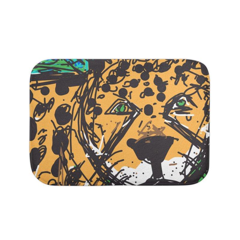 Jaguar Home Bath Mat by rimadi's Artist Shop