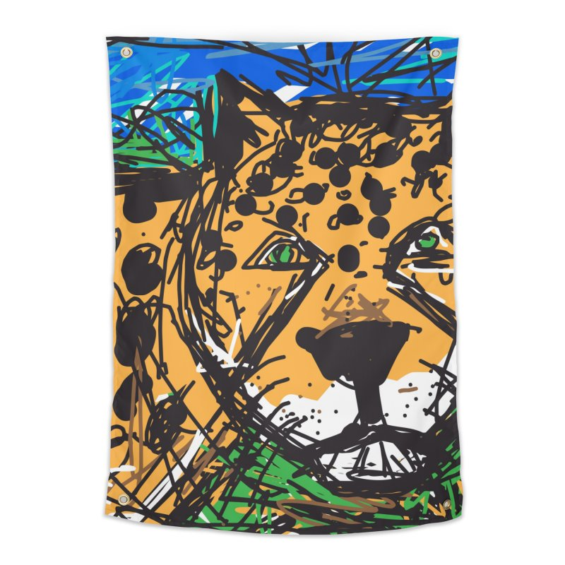Jaguar Home Tapestry by rimadi's Artist Shop