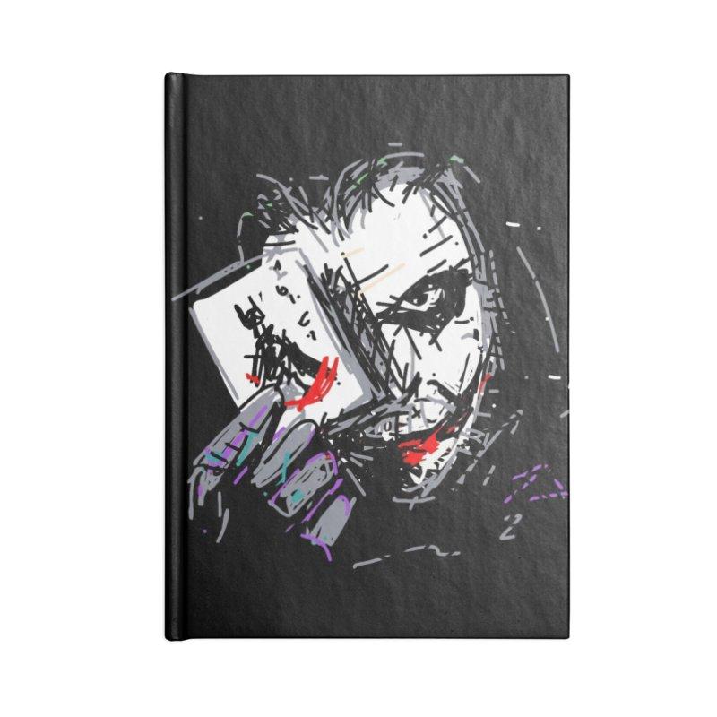 Joker Accessories Lined Journal Notebook by rimadi's Artist Shop