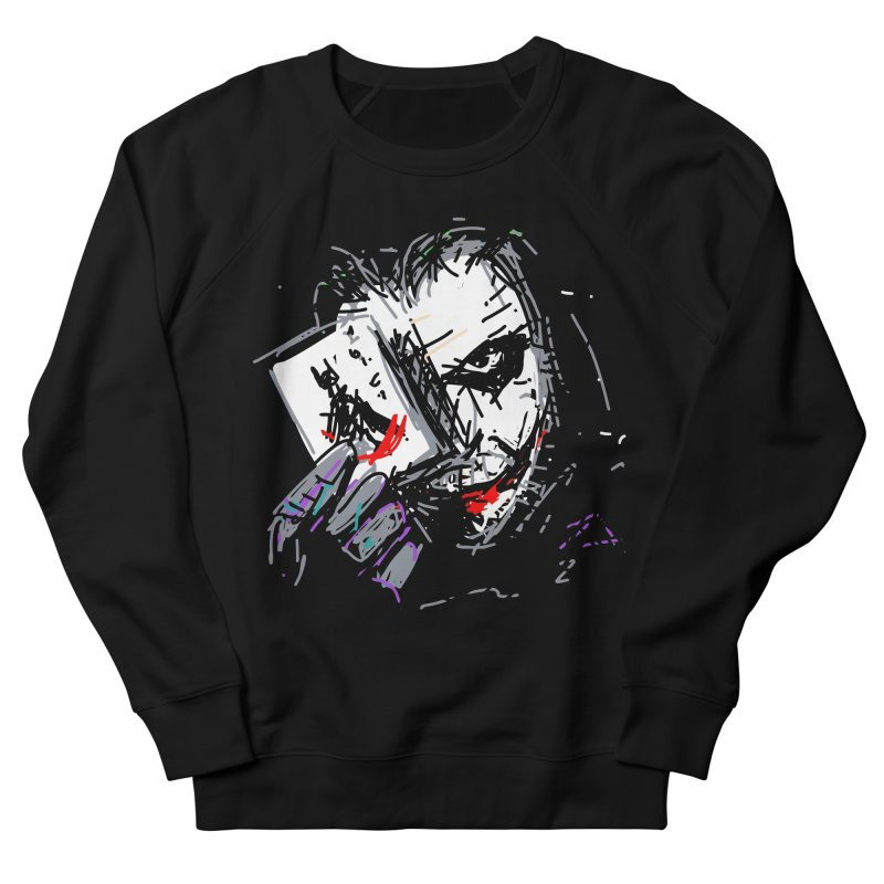Joker Men's Sweatshirt by rimadi's Artist Shop