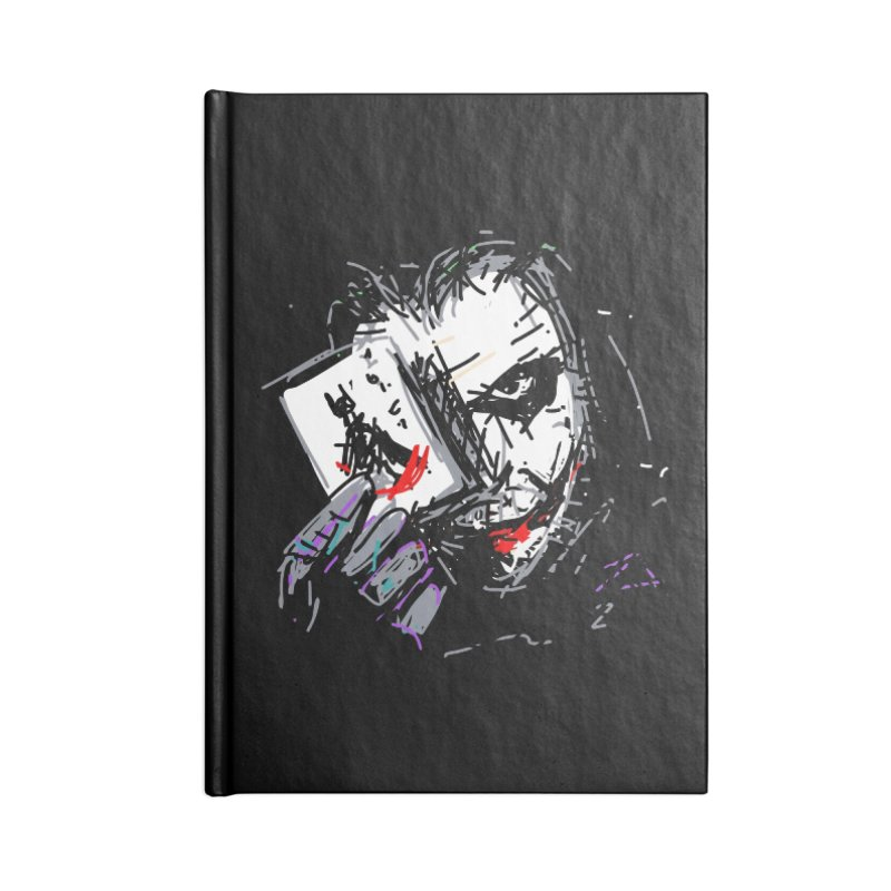 Joker Accessories Notebook by rimadi's Artist Shop