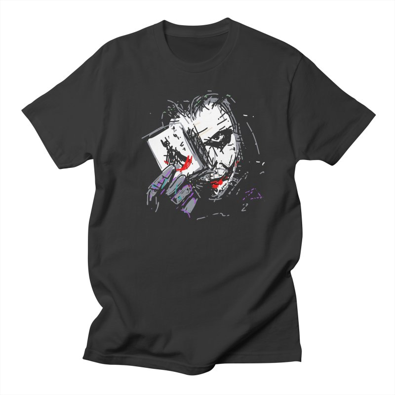 Joker Men's French Terry Sweatshirt by rimadi's Artist Shop