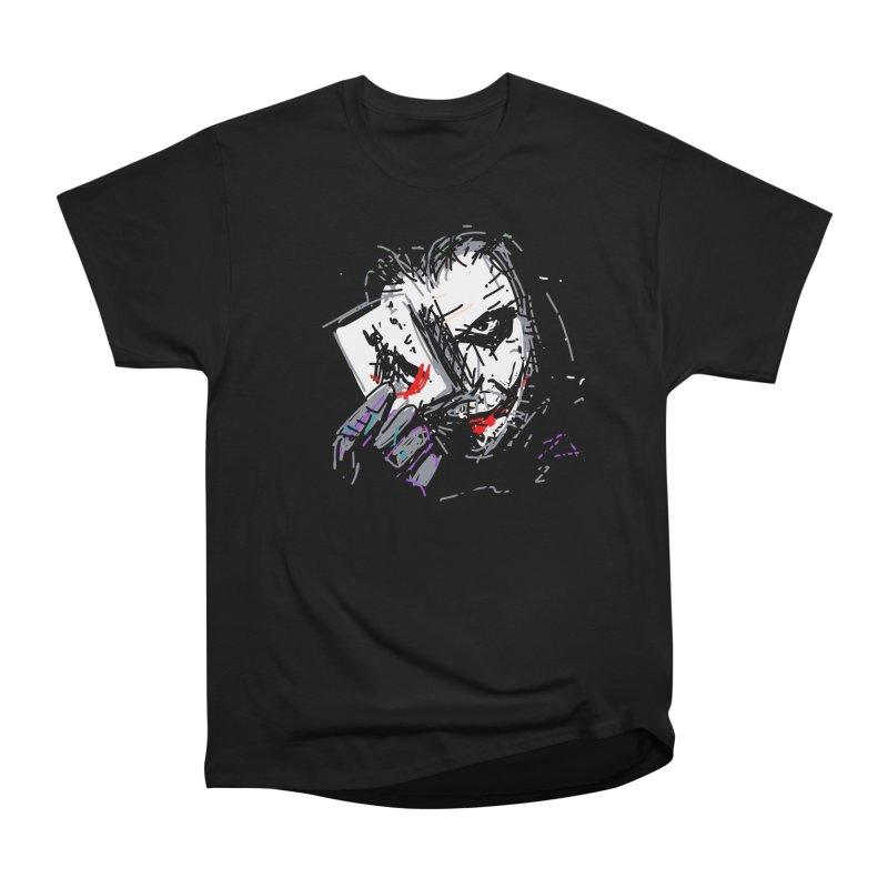 Joker Men's Heavyweight T-Shirt by rimadi's Artist Shop