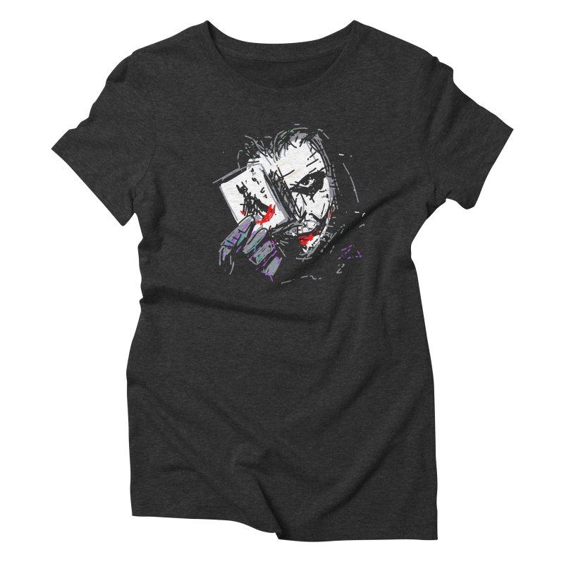 Joker Women's T-Shirt by rimadi Shop