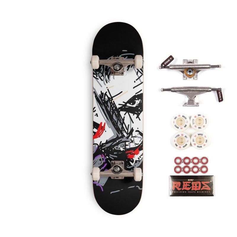 Joker Accessories Complete - Pro Skateboard by rimadi's Artist Shop