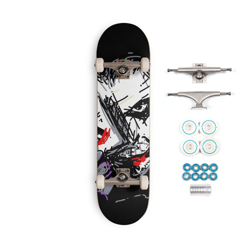 Joker Accessories Complete - Basic Skateboard by rimadi's Artist Shop
