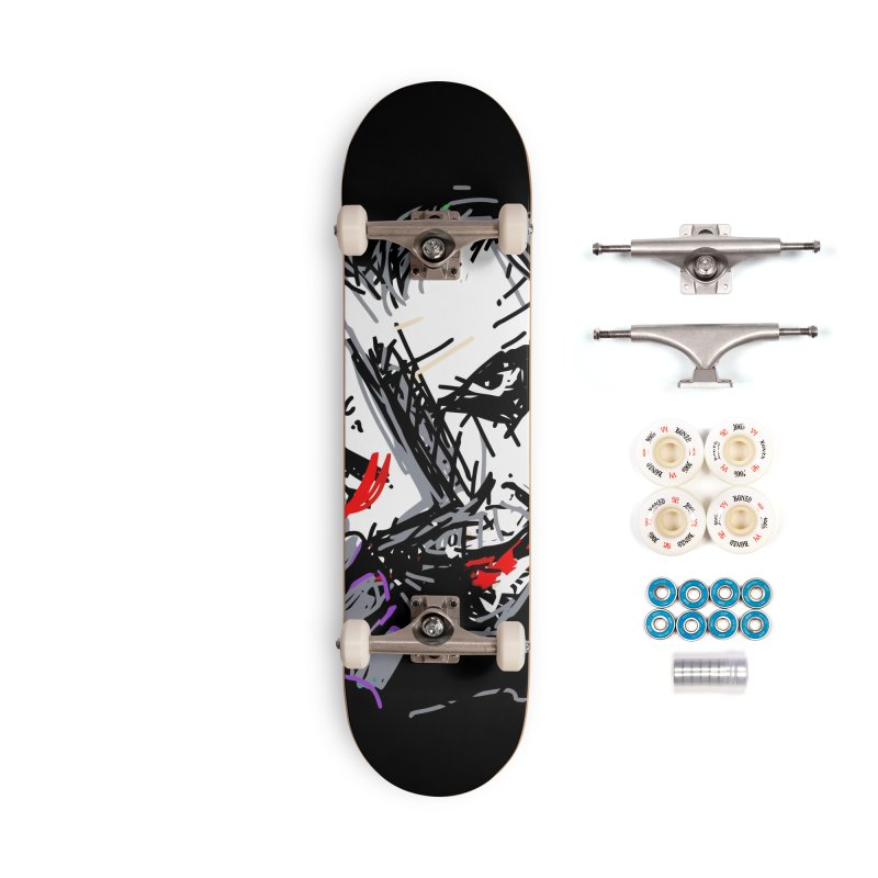 Joker Accessories Complete - Premium Skateboard by rimadi's Artist Shop