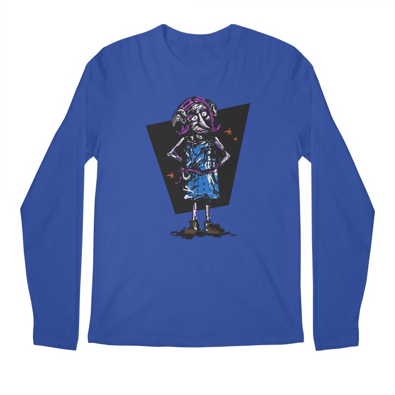Debby the Housewife-elf Men's Regular Longsleeve T-Shirt by rimadi's Artist Shop