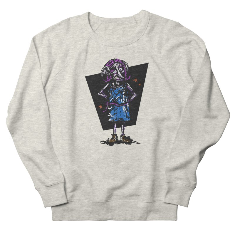 Debby the Housewife-elf Women's French Terry Sweatshirt by rimadi's Artist Shop
