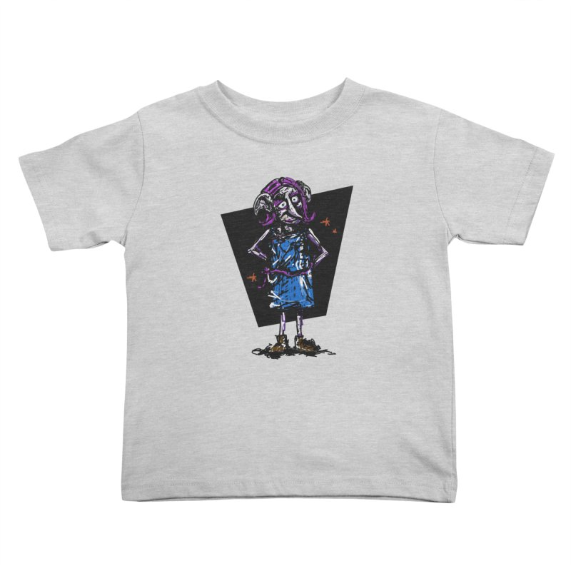 Debby the Housewife-elf Kids Toddler T-Shirt by rimadi's Artist Shop