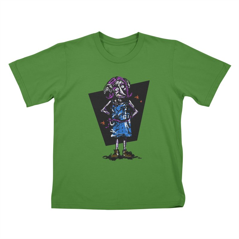 Debby the Housewife-elf Kids T-Shirt by rimadi's Artist Shop