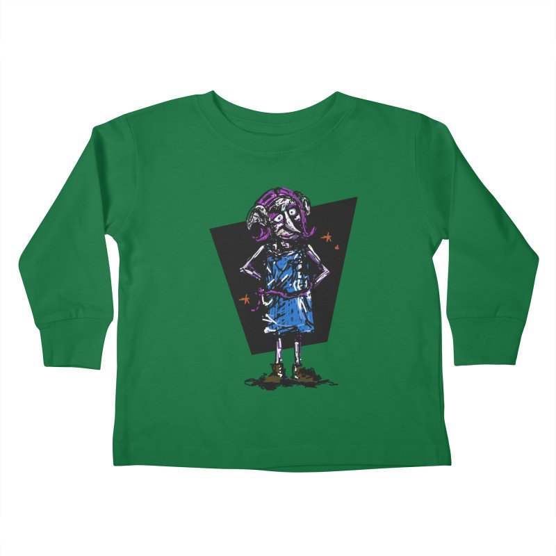 Debby the Housewife-elf Kids Toddler Longsleeve T-Shirt by rimadi's Artist Shop