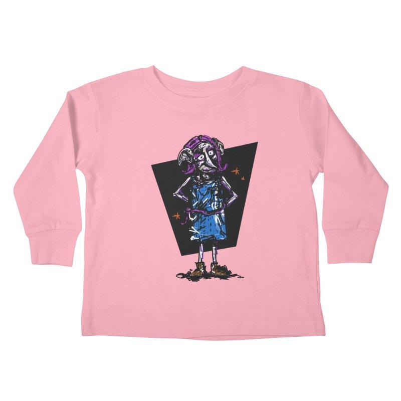 Debby the Housewife-elf Kids Toddler Longsleeve T-Shirt by rimadi's Artist Shop