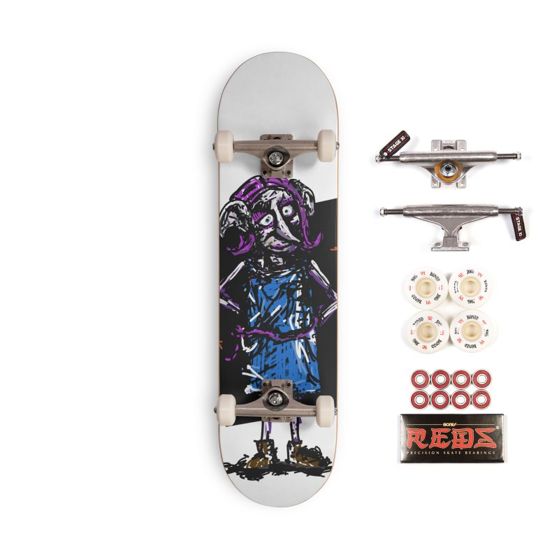 Debby the Housewife-elf Accessories Skateboard by rimadi's Artist Shop