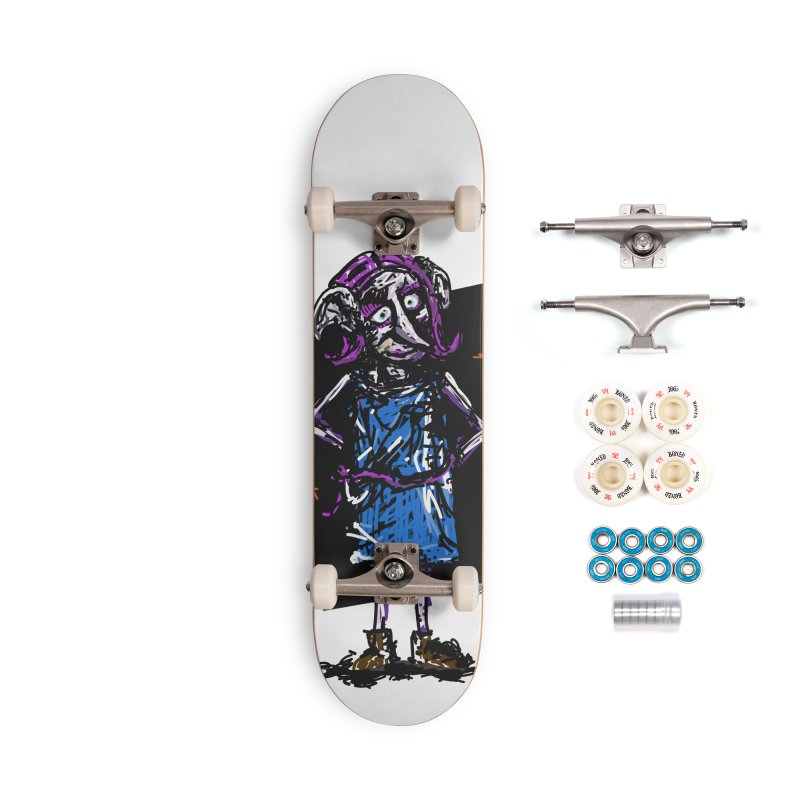 Debby the Housewife-elf Accessories Complete - Premium Skateboard by rimadi's Artist Shop