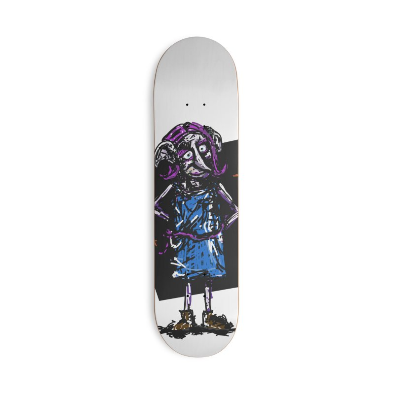 Debby the Housewife-elf Accessories Deck Only Skateboard by rimadi's Artist Shop
