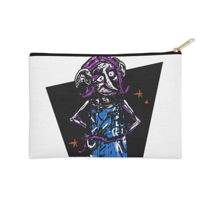 Debby the Housewife-elf Accessories Zip Pouch by rimadi's Artist Shop