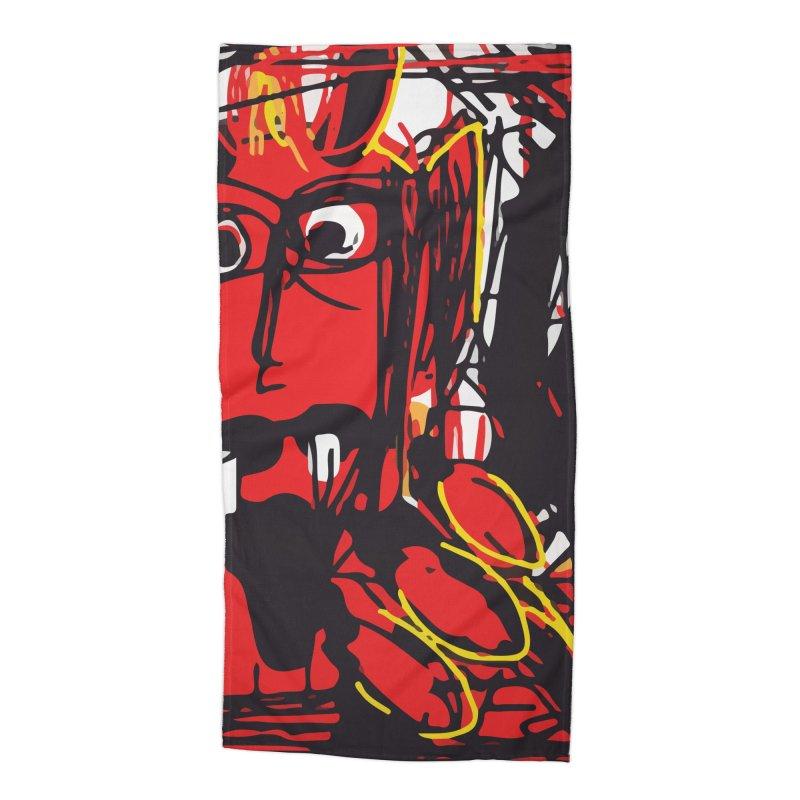 Devil Accessories Beach Towel by rimadi Shop
