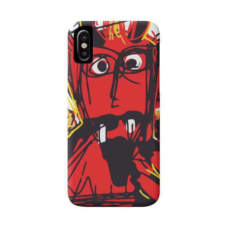 Devil Accessories Phone Case by rimadi's Artist Shop