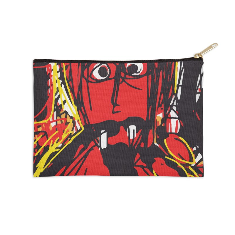 Devil Accessories Zip Pouch by rimadi's Artist Shop