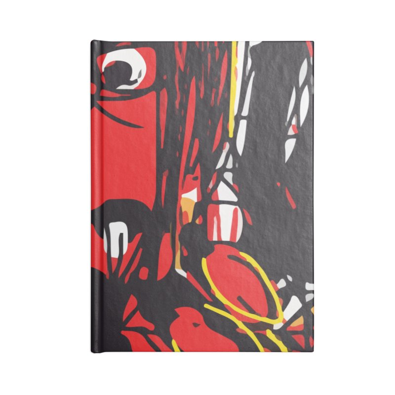 Devil Accessories Lined Journal Notebook by rimadi's Artist Shop