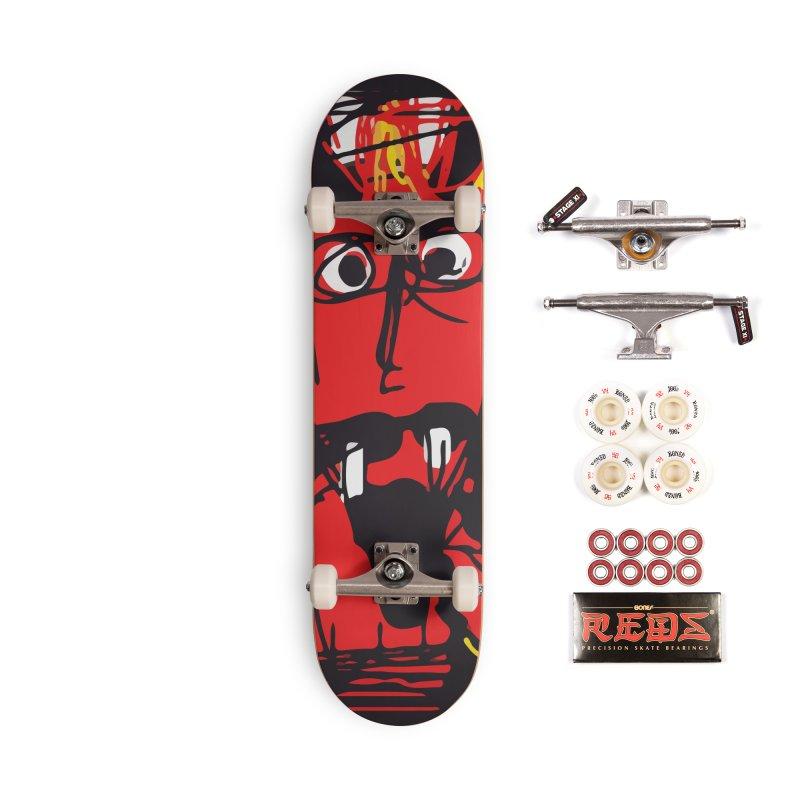 Devil Accessories Complete - Pro Skateboard by rimadi's Artist Shop
