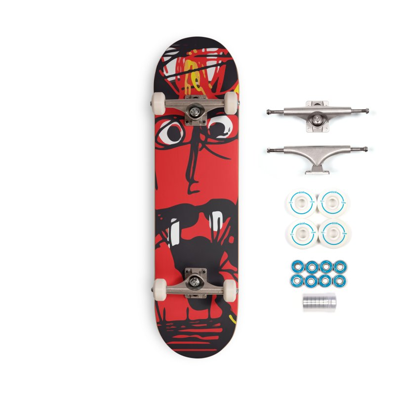 Devil Accessories Complete - Basic Skateboard by rimadi's Artist Shop