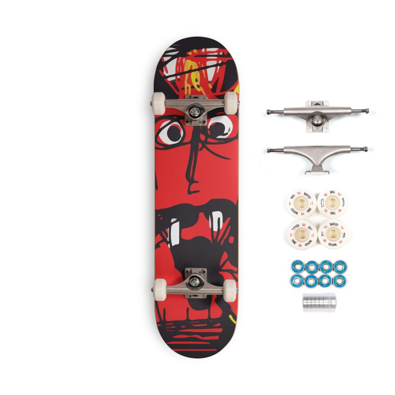 Devil Accessories Complete - Premium Skateboard by rimadi's Artist Shop