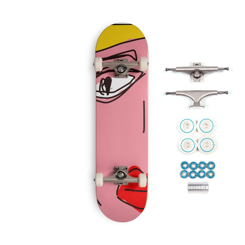 Blonde Accessories Complete - Basic Skateboard by rimadi's Artist Shop