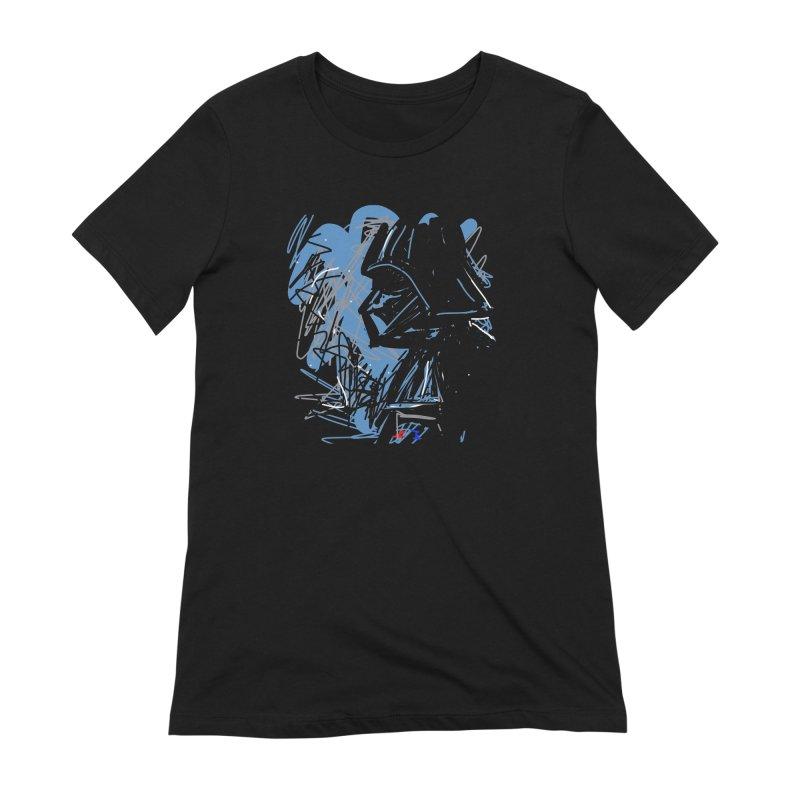 Darth Women's Extra Soft T-Shirt by rimadi's Artist Shop