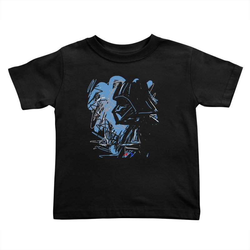 Darth Kids Toddler T-Shirt by rimadi's Artist Shop